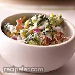 Creamy Bacon and Broccoli Salad