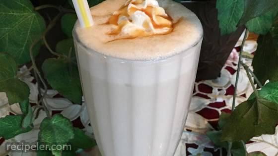 Creamy Banana Milkshake