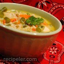 Creamy Chicken Vegetable Chowder