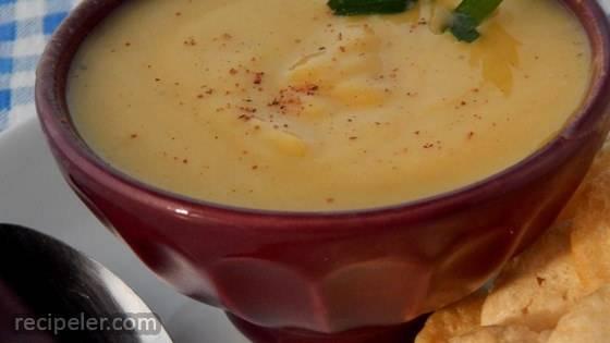 Creamy Delicata Squash Soup