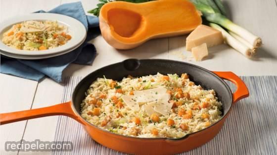Creamy Parmesan Rice & Butternut Squash
