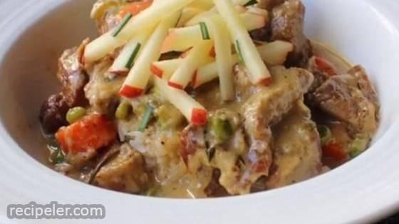 Creamy Pork Stew