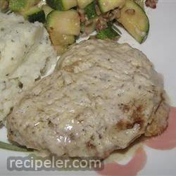 Creamy Pork with Sour Cream Sauce