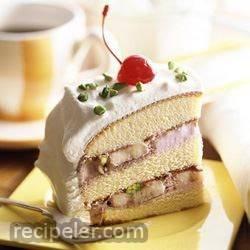 creamy white layers