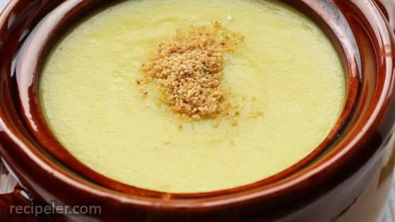 Crema di Cavolo Romanesco (Romanesco Broccoli Soup)