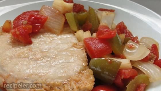 Creole Pork Chops