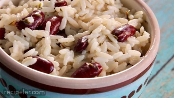 Creole Rice and Kidney Beans
