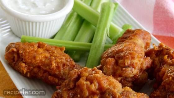 Crisp Fried Chicken Wings