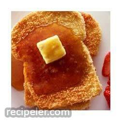 Crispy Baked French Toast