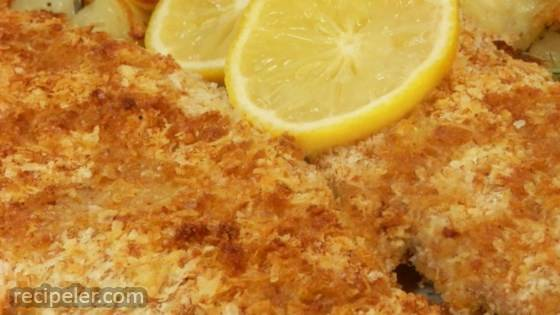 Crispy Baked Walleye