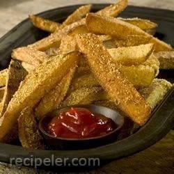 Crispy Coated Cajun Fries