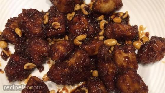 Crispy Kung Pao Chicken