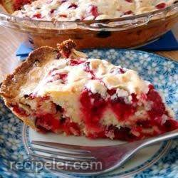 crustless cranberry pie