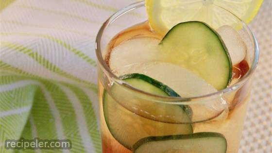 Cucumber Tea Spritzer
