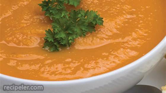 Curried Coconut-Carrot Soup