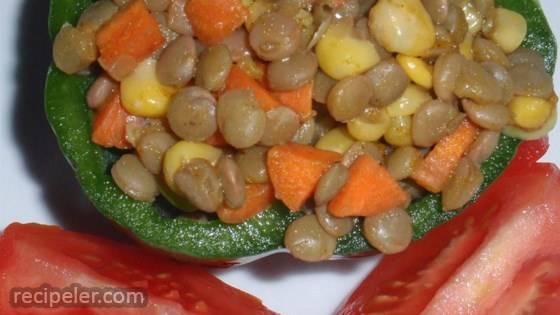Curried Lentil Salad