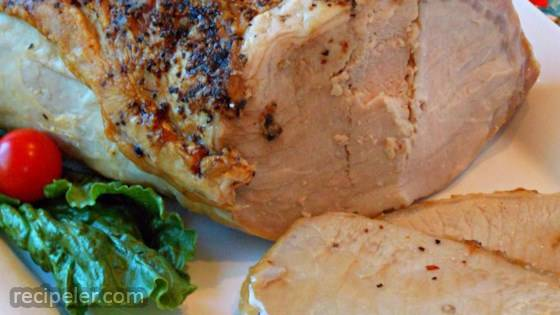 Dad's Basic Moist Pork Roast