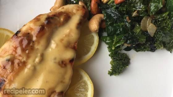 Dawn's Kale Side Dish