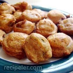 Deep Fried Jalapeno Slices