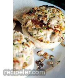 Delicious Ahi Fish Burgers with Chives