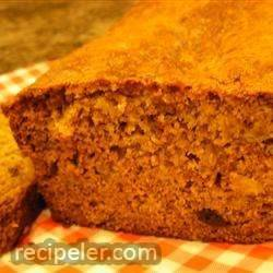 Delicious Raisin Nut Banana Bread