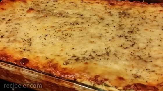 Delicious Spinach and Turkey Lasagna