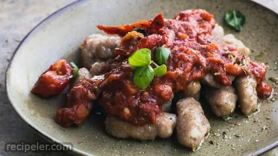 Delicious Vegan Gnocchi