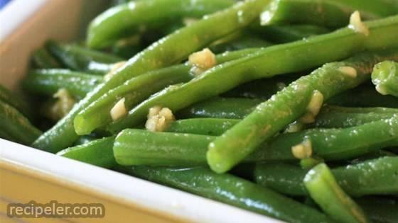 Deluxe Garlic Green Beans