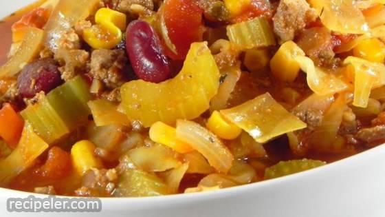 Diann's Chili Vegetable Soup