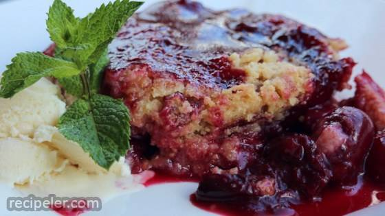 Don't Go Heatin' the House Gluten-Free Fresh Cherry Crumble
