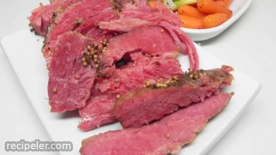 Drunken Corned Beef