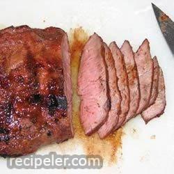 Drunken Flat ron Steak