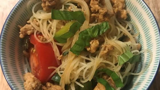 Drunken Noodles With Chicken
