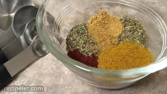 Dry Spice Rub for Lamb or Beef