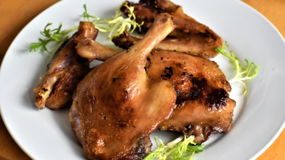 duck confit, the right way