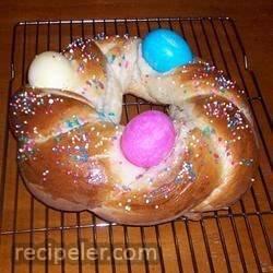 Easter Bird's Nest Bread