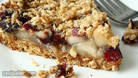 Easy Apple Berry Crumble Pie