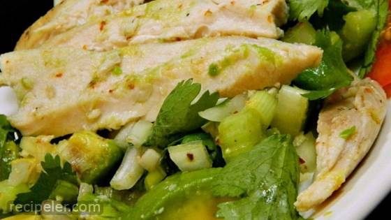 Easy Avocado Chicken Salad