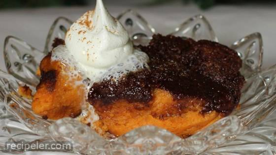 Easy Baked Pumpkin Pudding