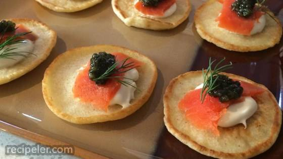 Easy Blini (Russian Pancake)