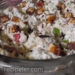 Easy Caramel Apple Salad with Cinnamon