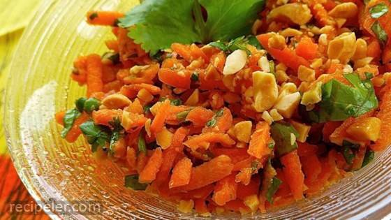 Easy Carrot Salad (ndian-Style)