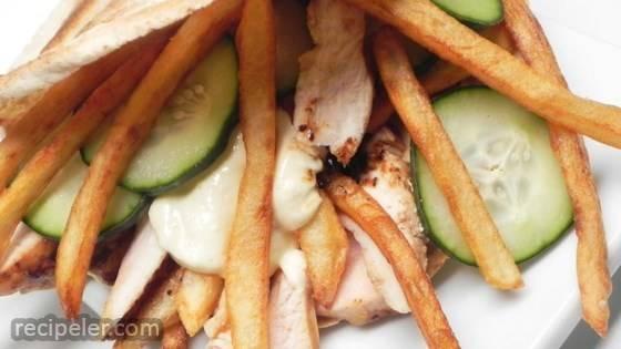 Easy Chicken Shawarma