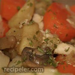 Easy Chicken Stew with Apple