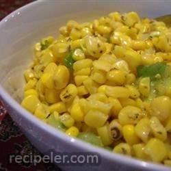 Easy Corn and Green Onion Salad