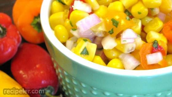 Easy Corn Salsa