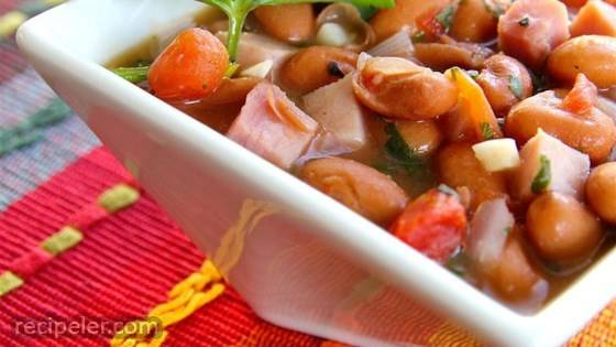 Easy Cowboy Beans (Frijoles Charros)