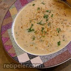 Easy Cream of Chicken Rice Soup