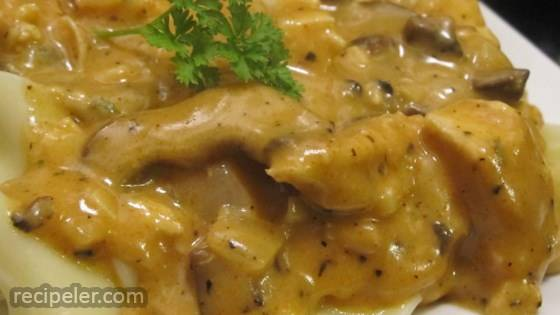 Easy Creamy Chicken Mushroom Sauce