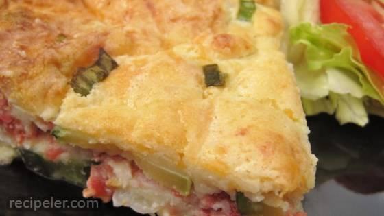 Easy Crustless Zucchini Quiche